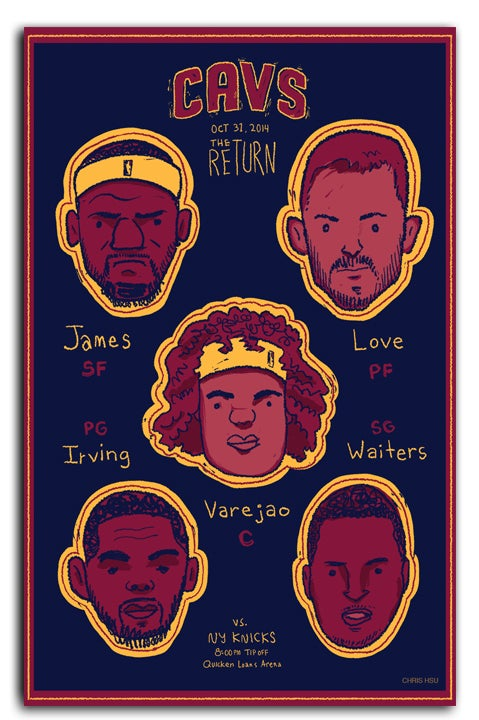 "Image of Cavaliers 2014 ""The Return"""