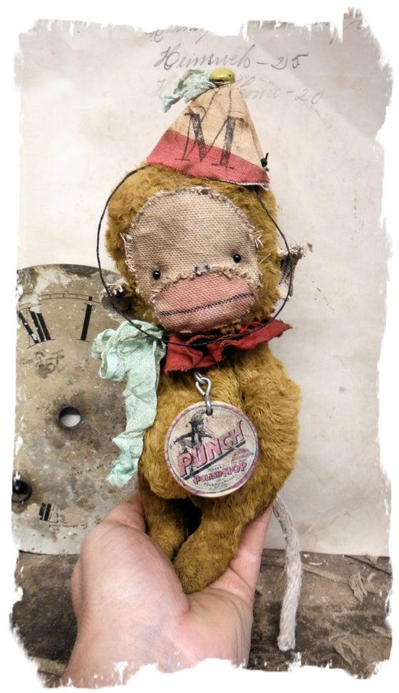 "Image of PUNCH * 8"" Vintage Style MONKEY * ToY MUNKI * By Whendi's Bears"