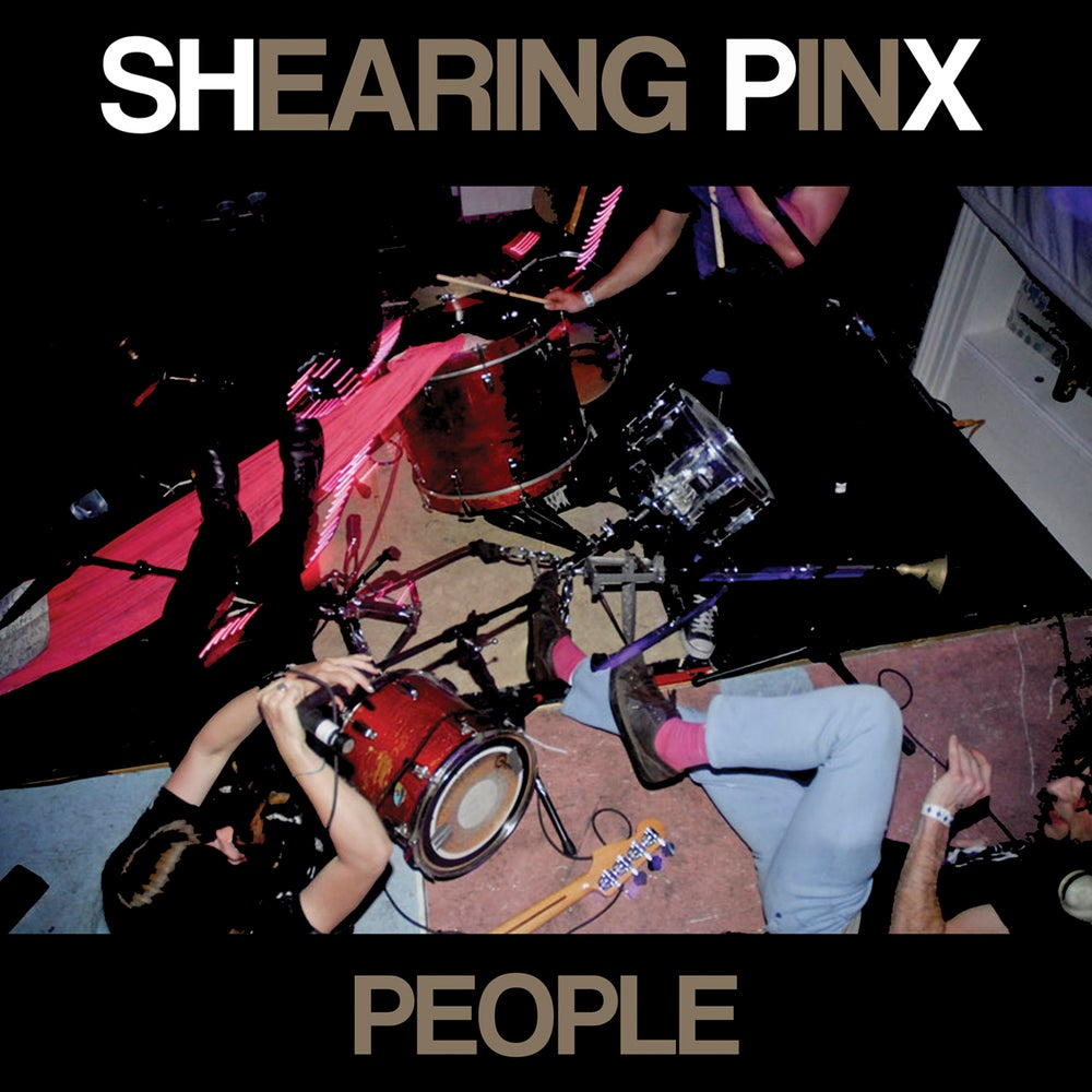 """Image of Shearing Pinx - People 12"""" LP (comes w/ download)"""