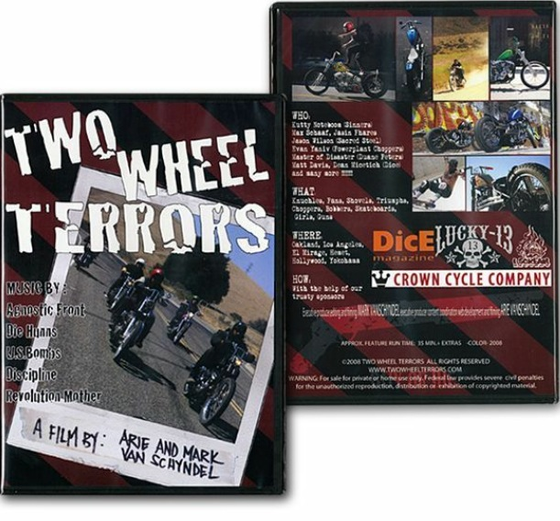 Image of Two Wheel Terrors DVD