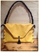 Image of Handbag - 'Yellow Skulls & Roses'