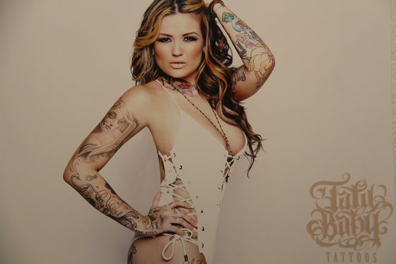 Image of TATU WHITE EVERYTHING PRINT