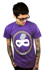 Image of Star Crest (Purple) (Mens)