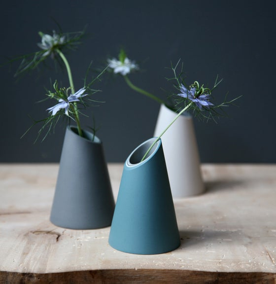 Image of Slash Cut Vase by Jill Shaddock.