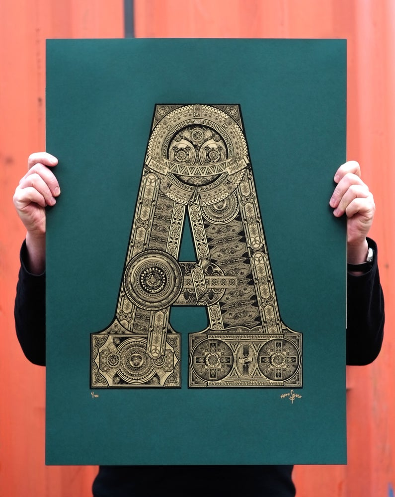 Image of The Illustrated Letter Project: 'A'