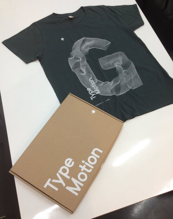 Image of Type Motion T-Shirt