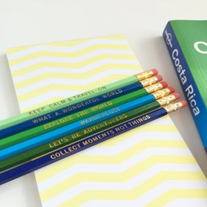 Image of Pencil Set:: Wanderlust