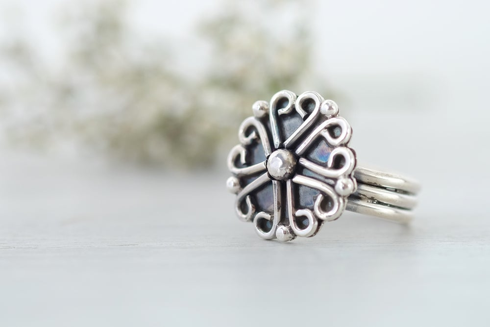 Image of Celtic Heart Ring