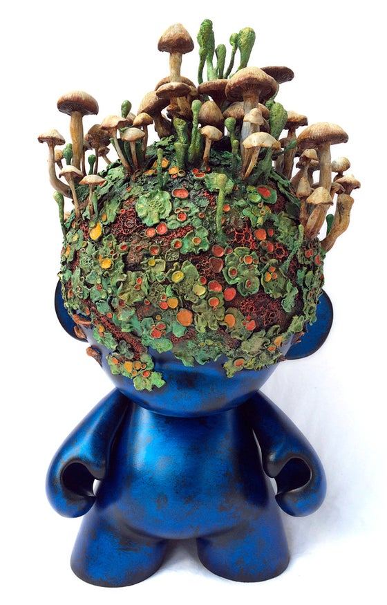 "Image of ""Overgrown"" original custom sculpture"