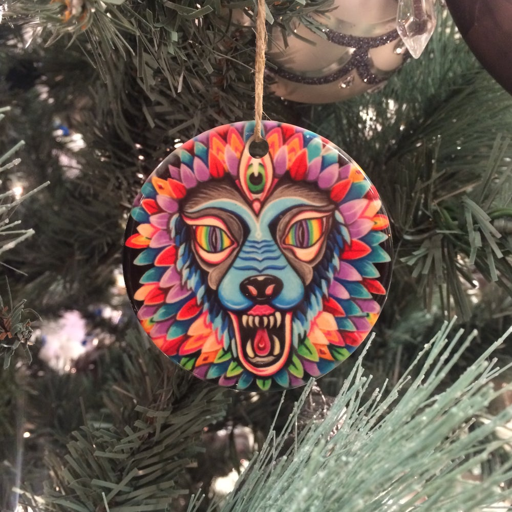 "Image of ""Pussy/Chief"" ornament"