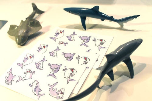 Image of Shark Stickers (5 sheets)