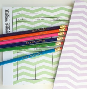 Image of PENCIL SET: Cheerful Motivations
