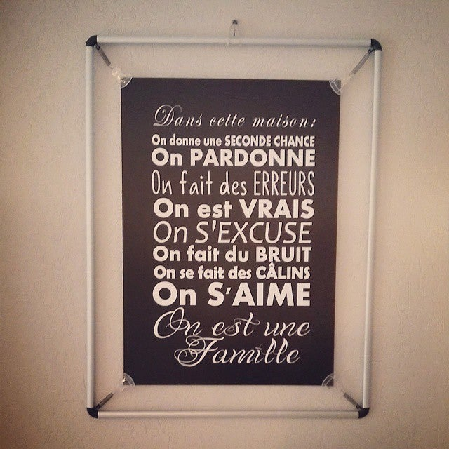 """Image of Affiche """"FAMILLE"""" - Formats A3 ou A2"""