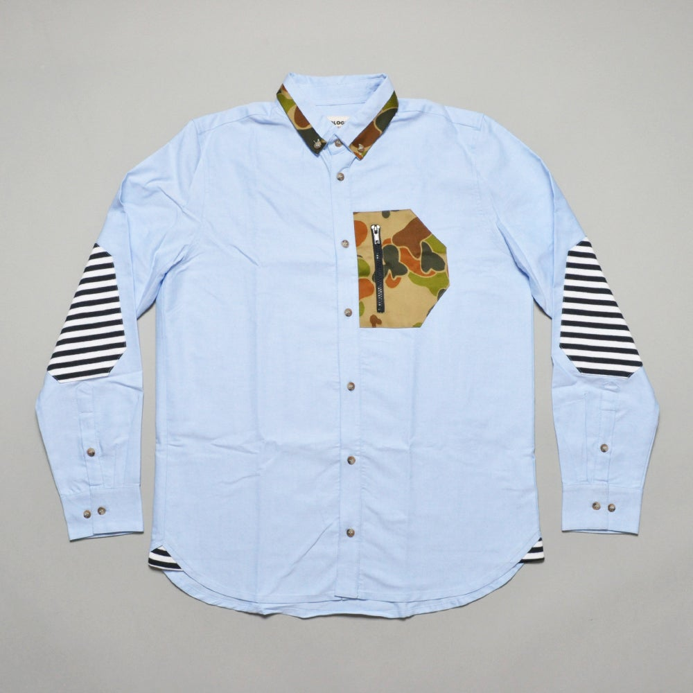 Image of TEMPO SHIRT - BLUE