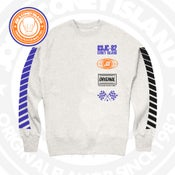 Image of JCI Sport Grey (Royal/Blk/Orange) Crewneck