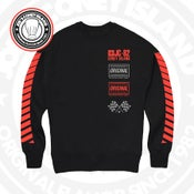 Image of JCI Sport Black (Red) Crewneck
