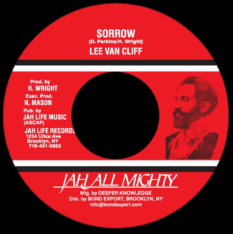 """Image of Lee Van Cliff - Sorrow 7"""" (Jah All Mighty)"""