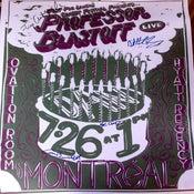 Image of Professor Blastoff Live in Montreal Poster