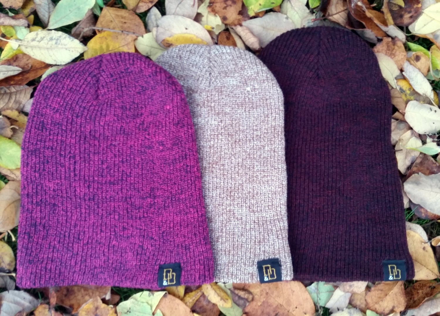 Image of Oatmeal Heritage Beanie Hat