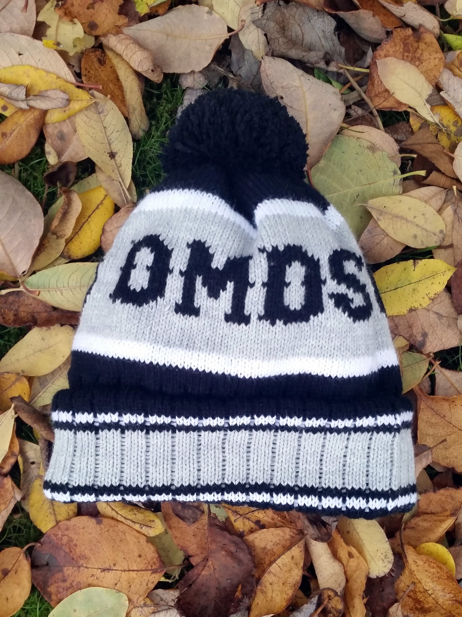 Image of The Raider Custom PomPom Beanie Hat