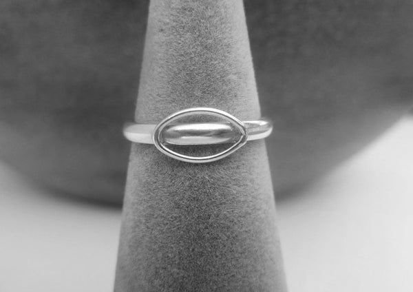 Image of Silver Leaf Ring