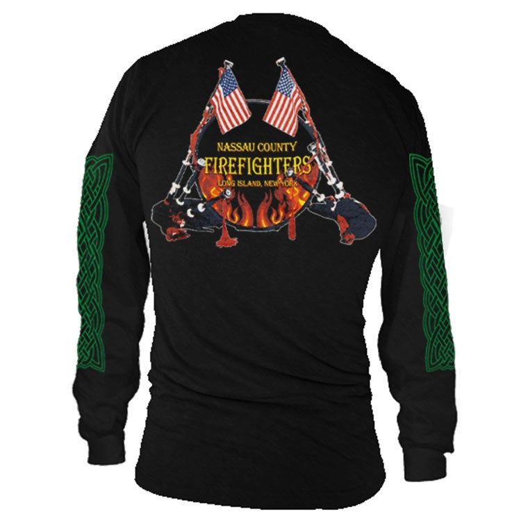 Image of Bagpipes & Drum Long Sleeve Shirt