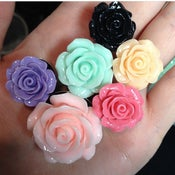 "Rose Plugs (sizes 0g-1 5/8"")"