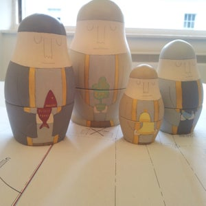 Image of St Mungo Russian Dolls