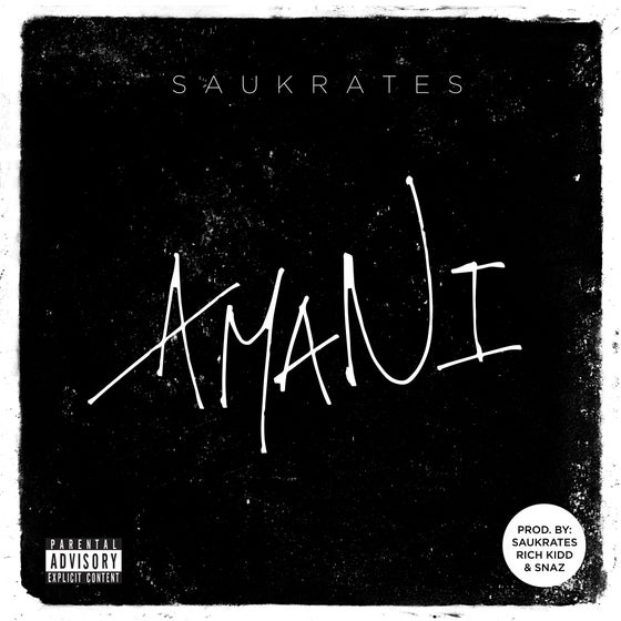 Image of Saukrates - Amani (CD)
