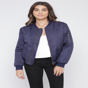 "Image of ""I'm in the Navy Now"" Bomber Jacket"
