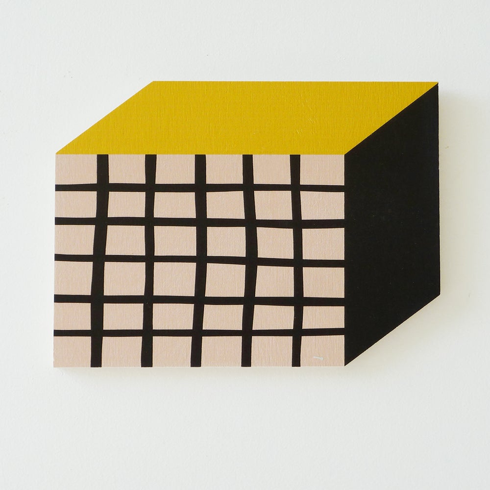 Image of CUBE PLY WALL HANGING