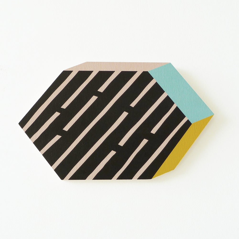 Image of HEXAGON PLY WALL HANGING
