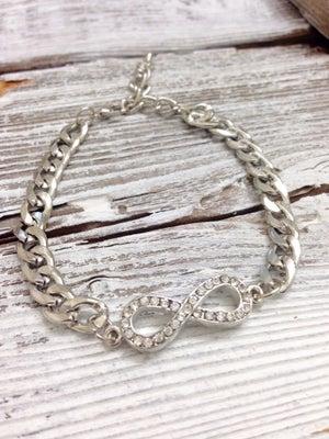 Image of Petite Infinity Chain Bracelet