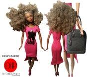 Image of Kinky Barbie Fashion Doll