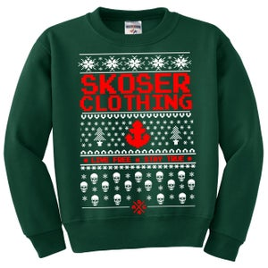 Image of Ugly Xmas Sweater GREEN