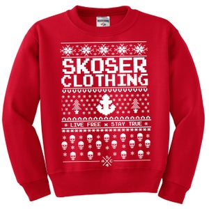 Image of Ugly Xmas Sweater RED
