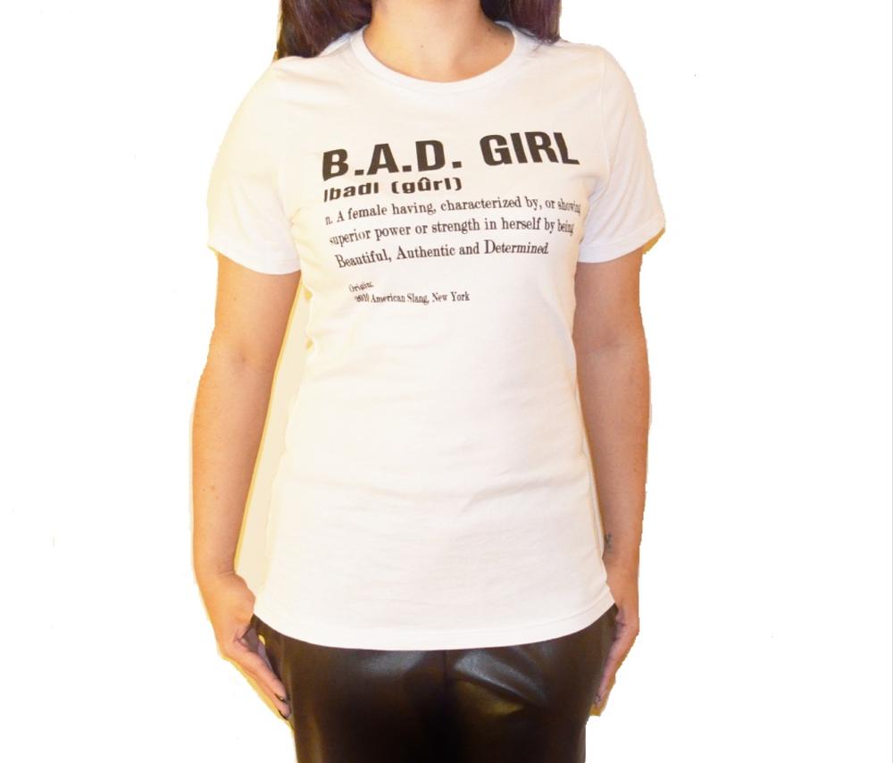Image of B.A.D. Girl Crew Tee