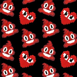 Image of Heart Poo Scarf