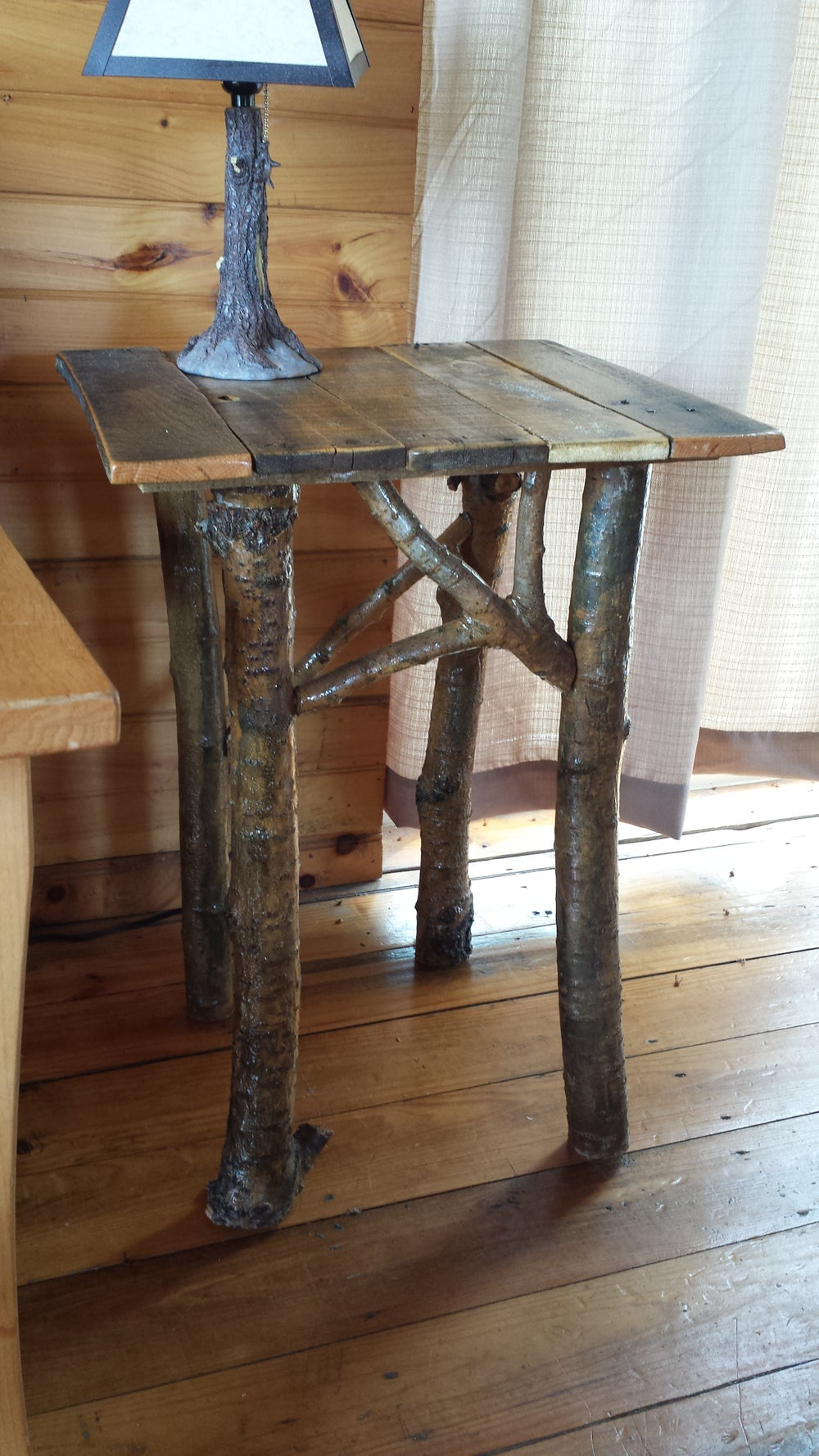 Image of Rustic End Table