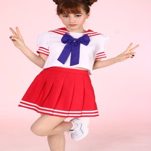 Image of Ready To Post - Sailor Mars Inspired 2 Piece Set