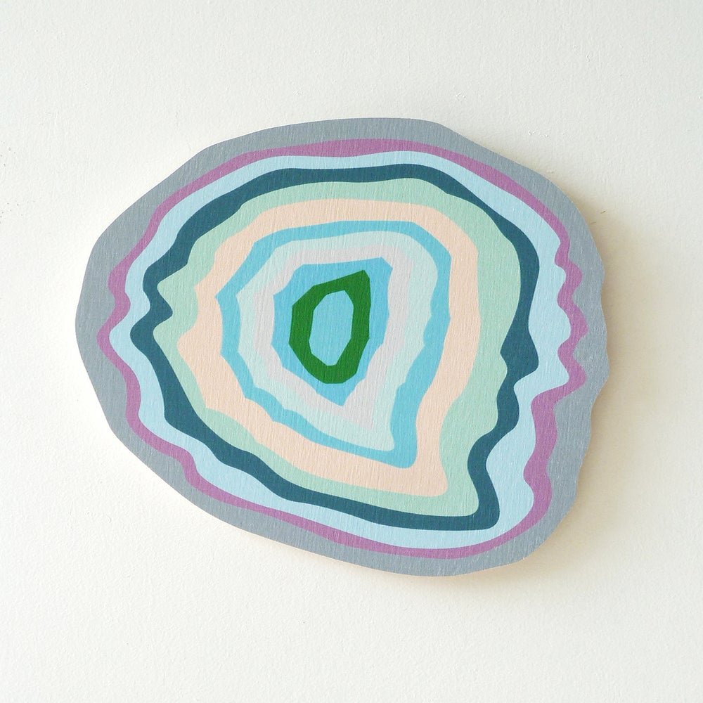 Image of BLUE AGATE PLY WALL HANGING