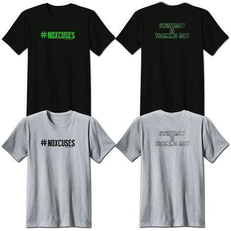 Image of TeeShirt - #NOXCUSES