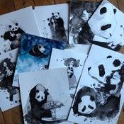 Image of Pandamonium 14 postcards set ***PRE ORDER***