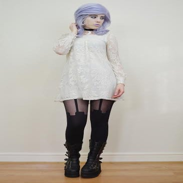 Image of Parma Violet, Lilac Purple Pastel Waves Gothic Lolita Cosplay Wig