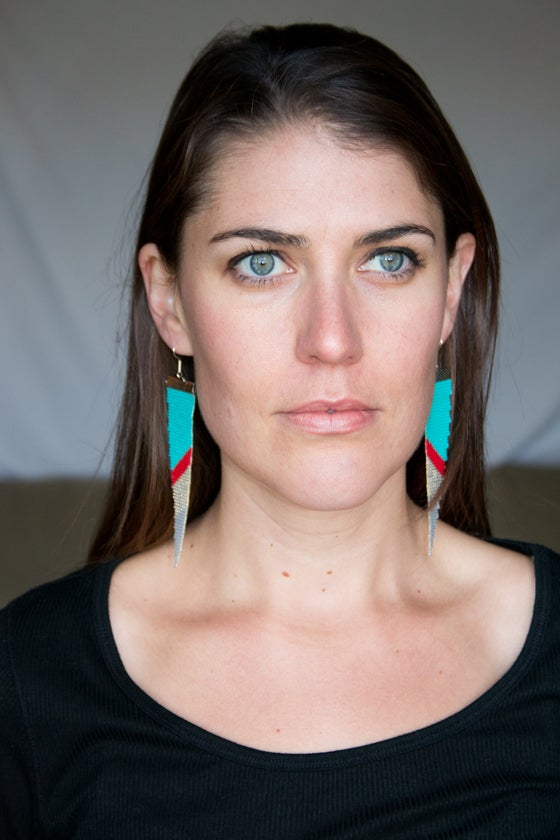 Image of Bala // Loom-Beaded Earrings