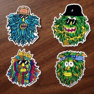 Image of Foul Foliage: Hip Hop Headz pack. 1