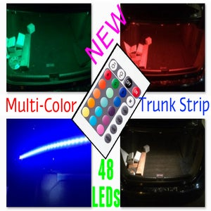 Image of Multi-Color 48 LED Trunk Strip with Remote Control