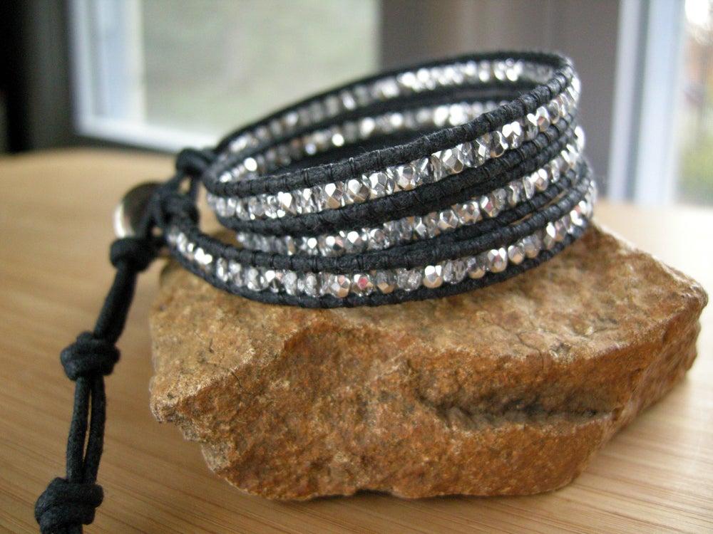 Image of Triple Cotton Wrap Bracelet