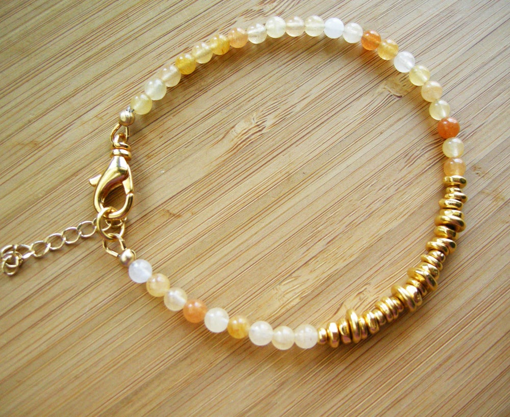 Image of Uplifting Honey Jasper Bracelet