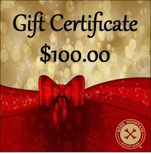 Image of GIFT CERTIFICATE -$100- The perfect gift for HER!